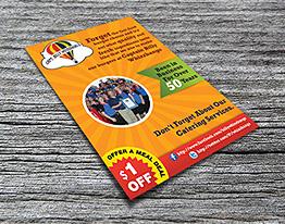burger flyer thumbnail