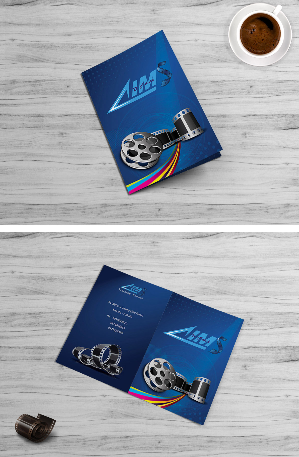 Bi-fold Brochure Design - Front and Back.jpg